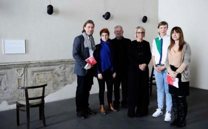 Carlo Bach, Fatma Bucak, Massimo Melotti, Sarah Cosulich, Caroline Achaintre, Marianna Vecellio Foto Giorgio Perottino