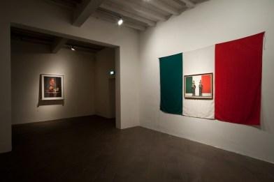 """Felice Levini, """"Italia per incognita"""", Palazzo del Governatore - PR, mostra """"Caratteri"""", (foto di G. Amoretti)"""