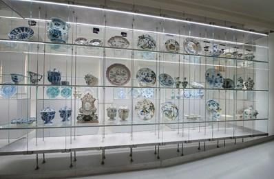 Museo della Ceramica, Savona, Sala 6 Allestimenti opere del XVIII secolo Credito fotografico: Fulvio Rosso