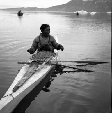 Pesca dello squalo artico XXXX, 1939 Fotografa Jette Bang © Arktisk Institut