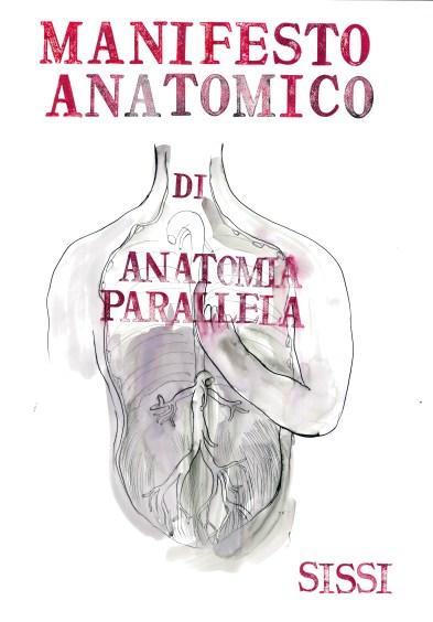 Sissi Manifesto anatomico, 2015 china, 100 x 70 cm