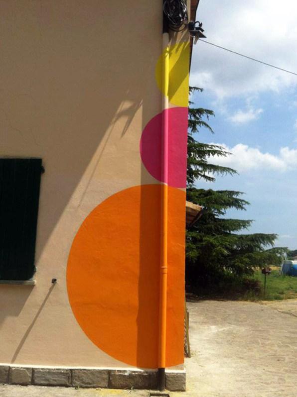 Elisa Vladilo, La casa che respira, site specific permanente