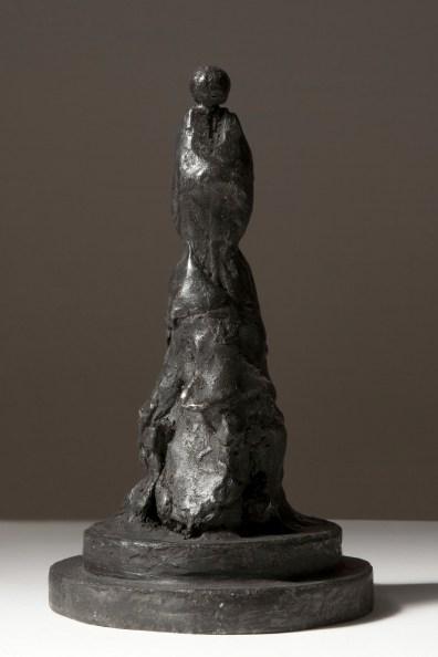 Piero Pizzi Cannella, Lei, 2012, bronzo, 20x11.5 cm