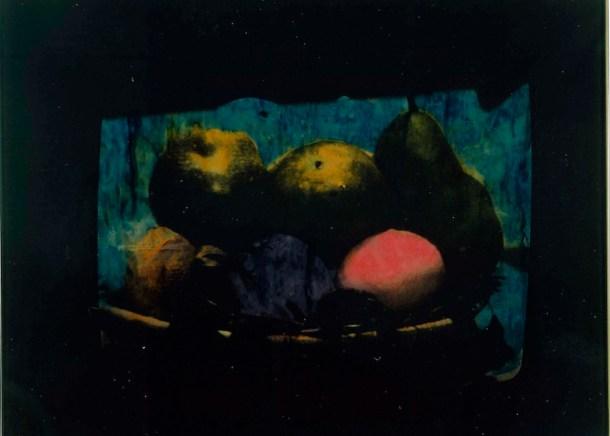 Mario Schifano, Televisione, smalto acrilico su tela emulsionata, cm, 80 x 110, anni 70. Courtesy Galleria de' Foscherari