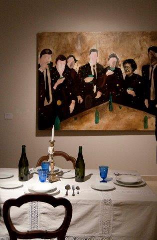 Federico Zanzi, allestimento, Museo MAR, Ravenna Foto Federica Casetti