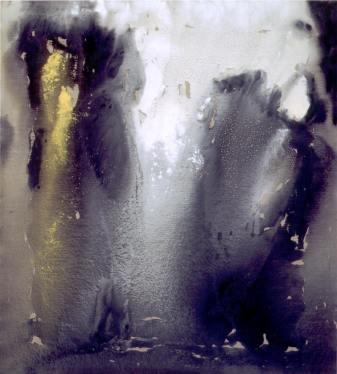 Vasco Bendini, Silenzio di luce, 2004, tempera acrilica su tela, 200x180 cm