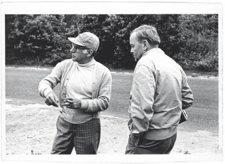 Saul Steinberg e Aldo Buzzi in vacanza negli Stati Uniti