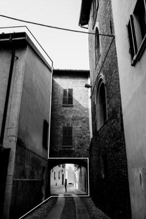 Beatrice BuzziBeatrice Buzzi, Pavia Immaginata, 2014, cm 30x40, Stampa a getto d'inchiostro su carta fotografica MATTE, Via Giovanni Vidari