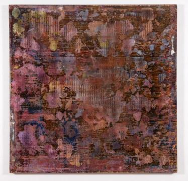 Robert Pan ED 9,235 EN, 2013-14 Resina, tecnica mista 180 x 180 cm.