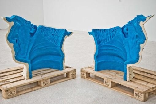 Rossella Biscotti, Le teste in oggetto, 2014. Foto Gianluca Turatti. Museion, Bolzano