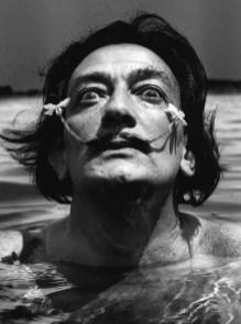 Jean Dieuzaide, Dali dans l'eau, Port lligat 1953, 30x40cm vintage print. Courtesy Suite 59 Gallery