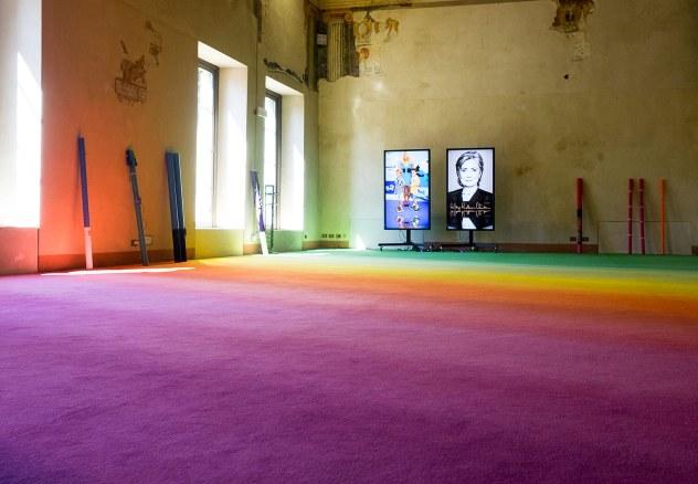 Cory Arcangel. This is all crazy, everybody seems so famous, 1 aprile - 28 giugno 2015 , Palazzo della Ragione / Sala dei Giuristi, Bergamo