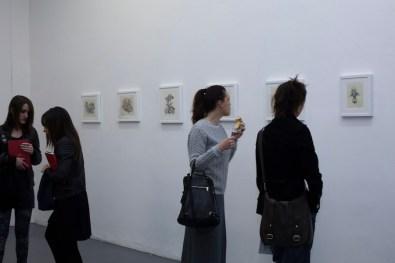 Marco Mazzoni. Home, veduta della mostra, Galleria Giovanni Bonelli, Milano