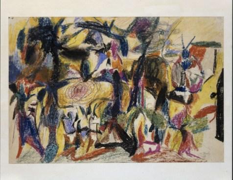Arshile Gorky, Senza titolo, 1943