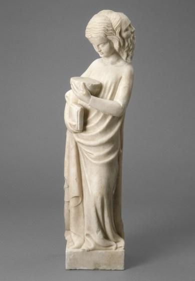 Bonino da Campione, Prudenza, marmo, 67.7x19.1x15.2 cm, National Gallery of Art, Samuel H. Kress Collection, Washington