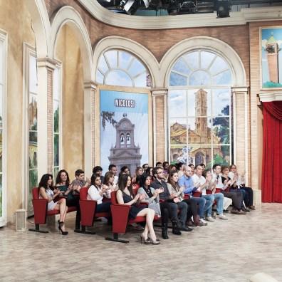 """Simone Donati, HOTEL IMMAGINE, Roma, maggio 2013. Il pubblico del programma televisivo """"Mezzogiorno in famiglia"""" del canale nazionale Rai Due"""