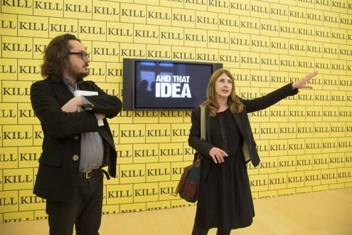 Andrea Viliani e Stéphanie Moisdon