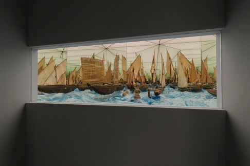 Modelli di imbarcazioni per il trasporto di vivande, Museo Nazionale Preistorico Etnologico Luigi Pigorini, Roma, Photo Attilio Maranzano EndFragment