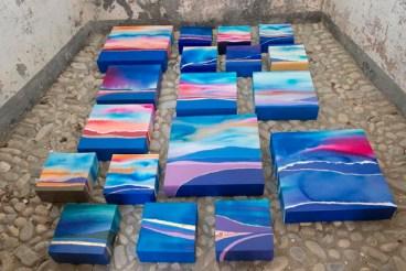 Cristiana Fioretti, Colormaps or spices, al Mar di Ventimiglia