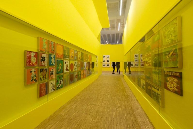 Andy Warhol, Children's Paintings (series of 93 drawings), 1983, Mugrabi Collection, New York, Photo Attilio Maranzano