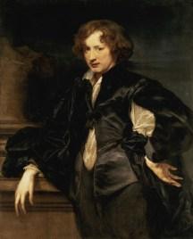 Antoon van Dyck, Autoritratto, 1622-23, olio su tela, 116.5x93.5 cm, The State Hermitage Museum S. Pietroburgo
