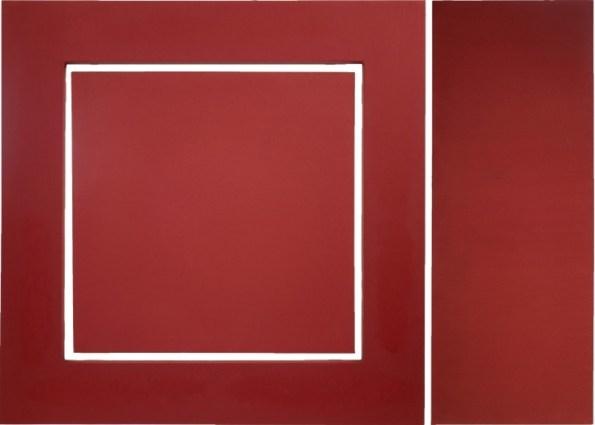 Enzo Cacciola, 25-11-1973 Superficie integrativa, pittura industriale su tela, 105x148 cm Courtesy Primo Marella Gallery