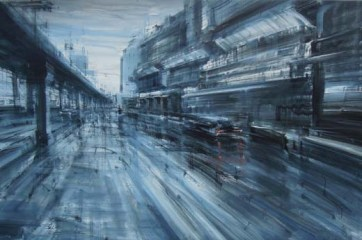 Alessandro Papetti Sopraelevata, 2012, 98x150. Courtesy Galleria Bonelli