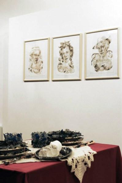 The Art of Food Valley, veduta dell'allestimento - Savina Lombardo Giovanni Gaggia