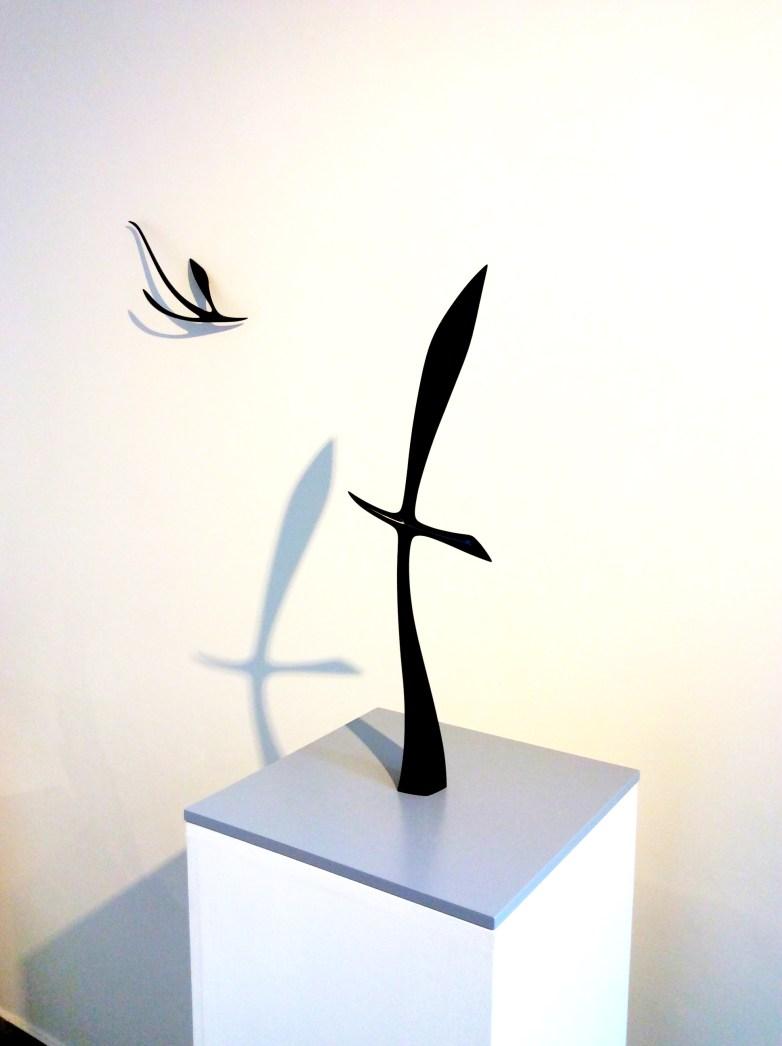Yoshihiko MURATA, Silhouette Sweeping, 2012, lacca giapponese (urushi)