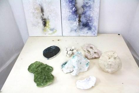L'esprit de l'escalier, opere di Lorenza Boisi e Laura Santamaria