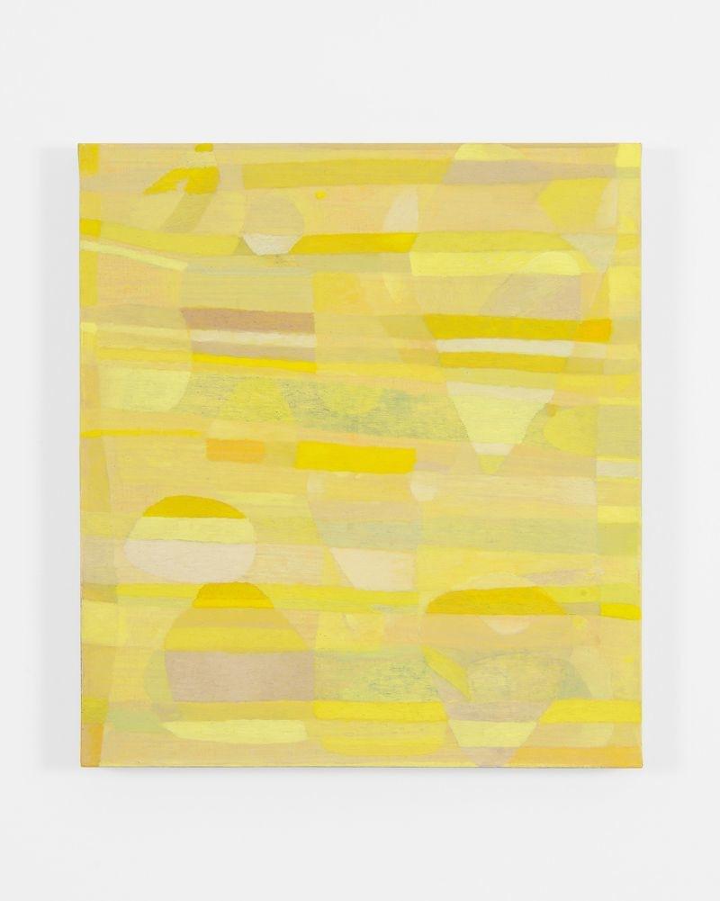 Clare Grill, Bee, 2015, olio su lino, 51x46 cm Foto Michele Alberto Sereni