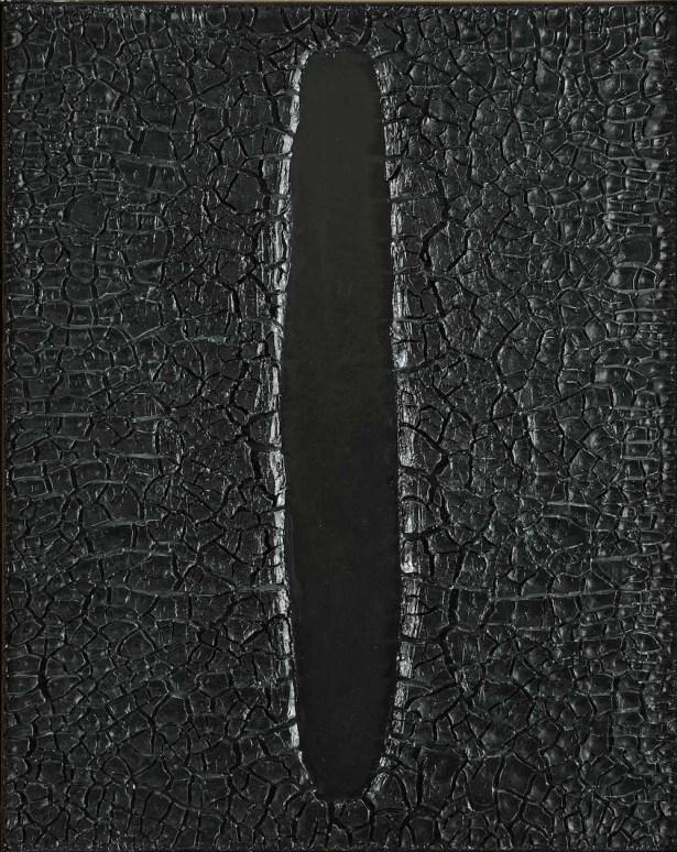 Alberto Burri, Cretto, 1973