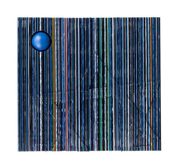Ahmet Güneştekin, Holy Encounter 1, 2012 Mix Media, 300 x 300 x 25 cm