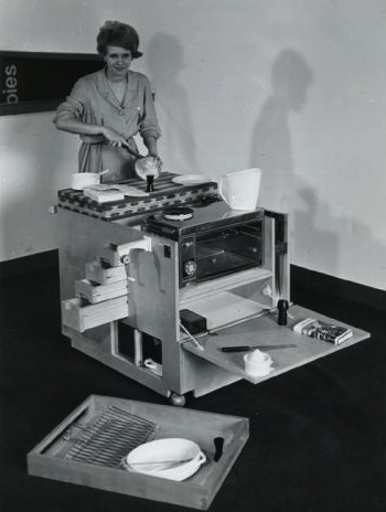 Joe Colombo, Minikitchen, Boffi, 1963