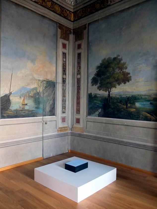 La percezione del futuro. La Collezione Panza a Perugia, veduta dell'allestimento, Museo Civico di Palazzo della Penna, Perugia