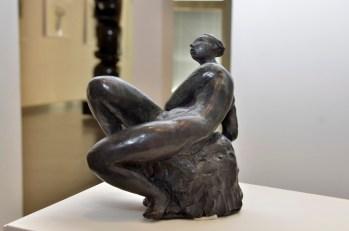 Agustin Cárdenas, La Negra, 1947, bronzo, 19x19x19 cm Foto Lapo Cozza