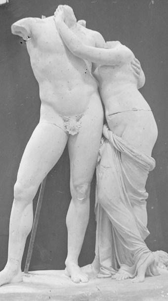 Antonio Canova, Venere e Marte Foto di Stefano Serafin, 1918