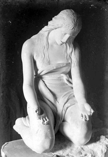 Antonio Canova, Maddalena Penitente Foto di Stefano Serafin, 1918