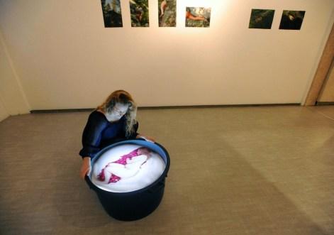 Flurina Badel, My beetroot story, 2013 Courtesy La Giarina, Verona