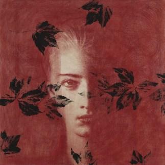 Omar Galliani, Dalle stanze di Ophelia, 2005, pastello su tavola e tempera, 100x100 cm © Luca Trascinelli
