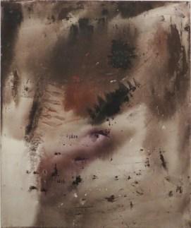 Vasco Bendini, S.T., 1958, olio su tela, 120x100 cm Courtesy La Giarina, Verona