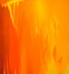 Gottardo Ortelli, Slittamenti del cuore, 1994, acrilici su tela, 195x180 cm