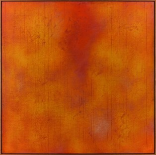 Claudio Verna, Red light, 2007-2013, acrilico su tela