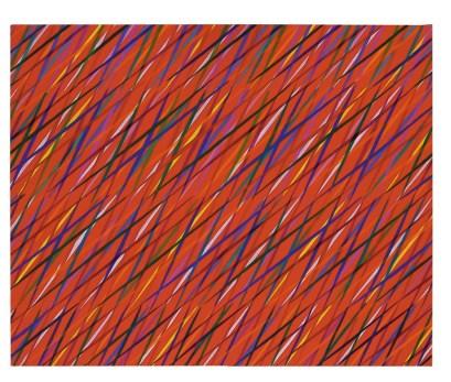 "Piero Dorzio, ""Gaudeamus"" I, 1985, cm 81x100, olio su tela Courtesy Lorenzelli Arte, Milano"