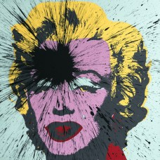 Impact-Marilyn-serie-Fame -2014-acrilico-su-serigrafia-by-Sunday-B Ph. Luca Gianetti. Courtesy Julian T.