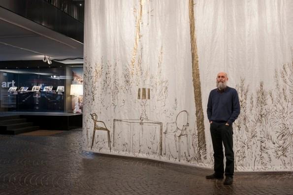 Stefano Arienti's installation for Kartell Museum