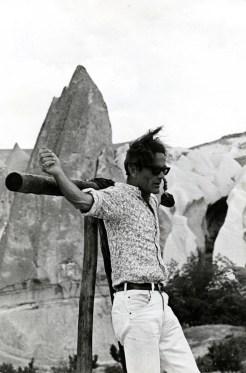 Pier Paolo Pasolini sul set di Medea, 1969 © Mario Tursi