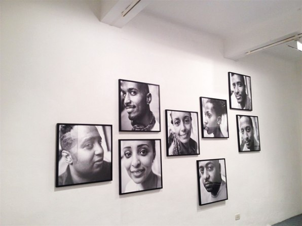 Linea Rossa, veduta della mostra, Spazio Testoni, Bologna