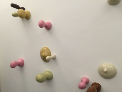 Beatrice Gallori. #Differences, veduta della mostra, Riccardo Costantini Contemporary, Torino (particolare)