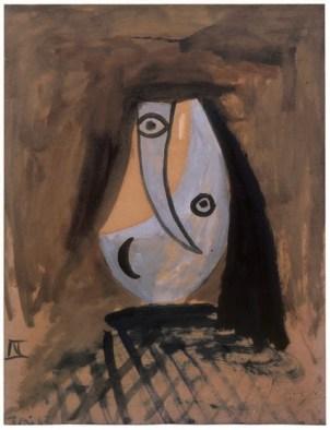 Pablo Picasso, Téte de Femme, 1943
